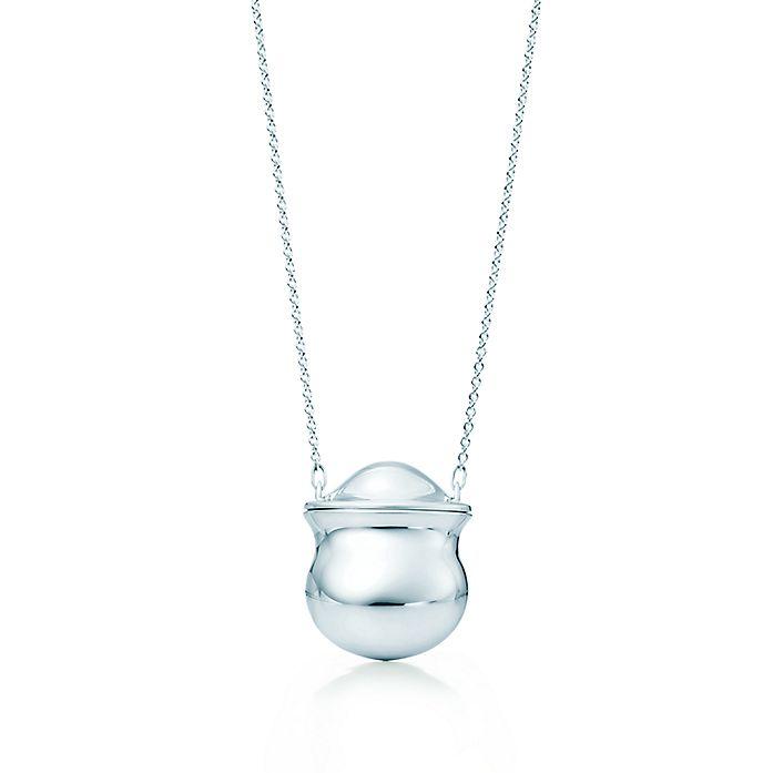dcfe95264 Elsa Peretti® Bottle inro bottle pendant in sterling silver ...