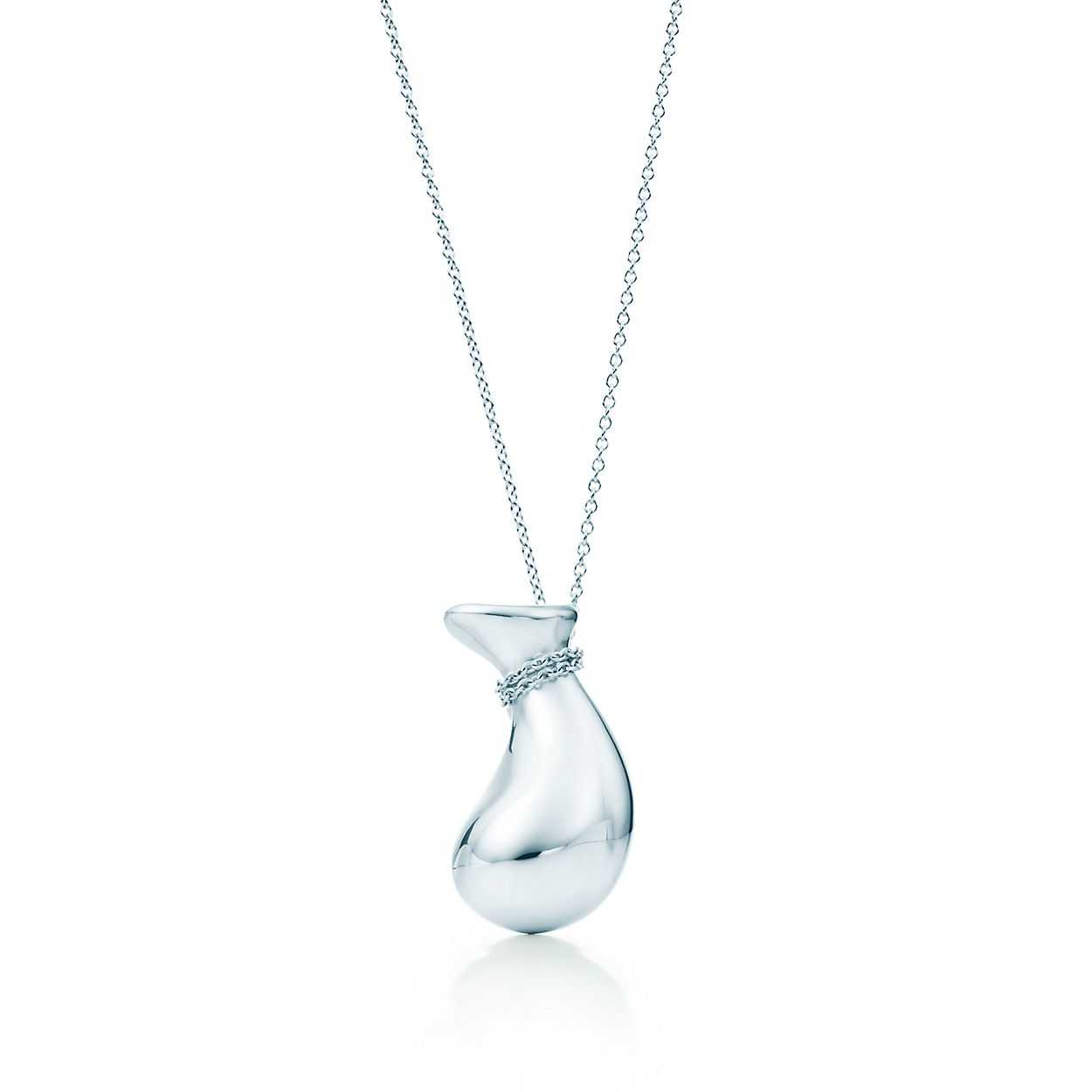 Elsa Peretti Bottle jug pendant in sterling silver, small Tiffany & Co.