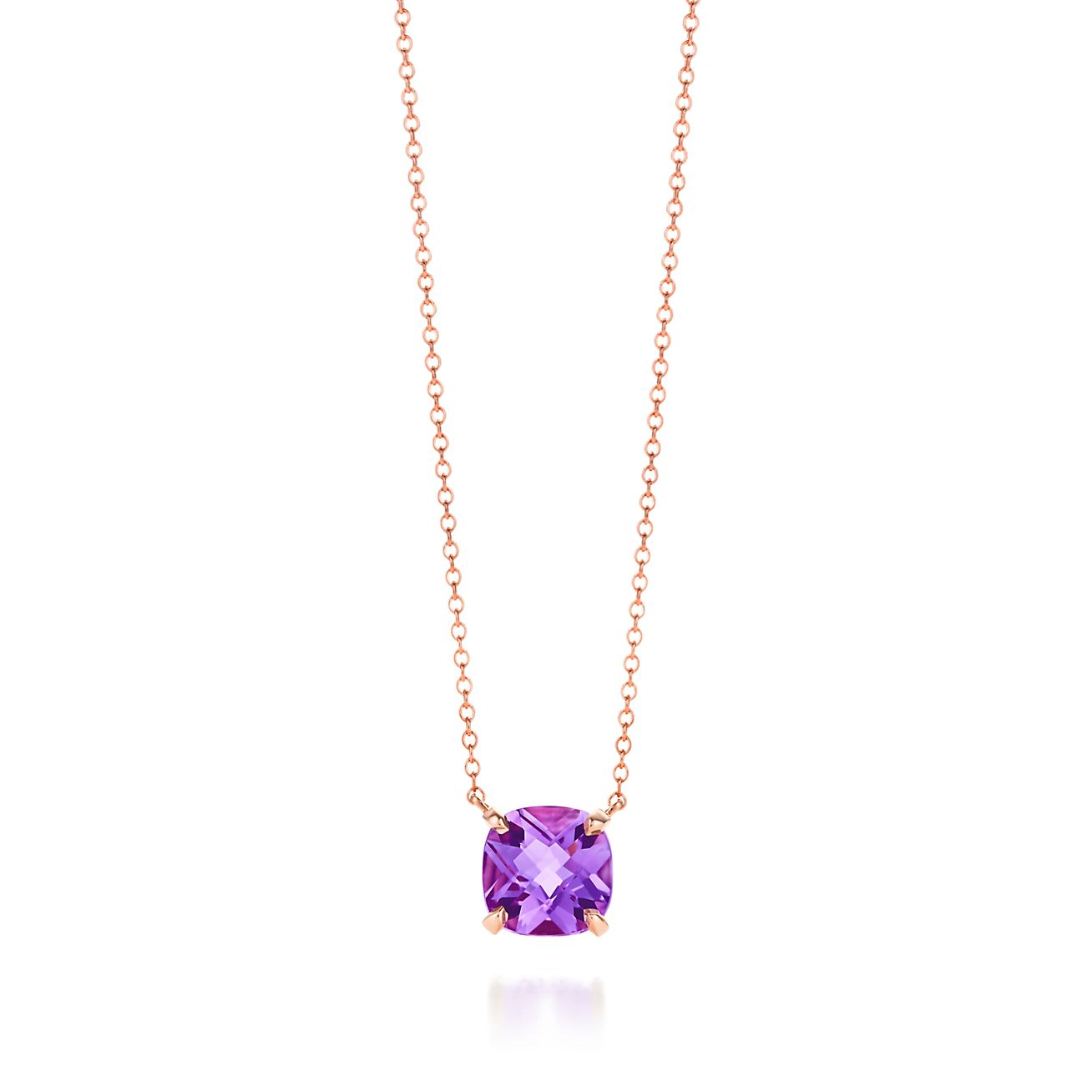 Tiffany Sparklers Lavender Amethyst Pendant