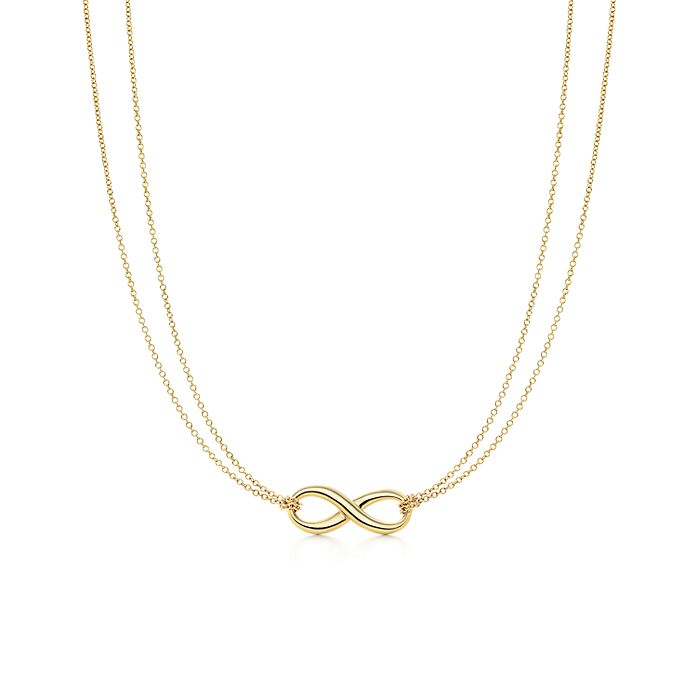 97572b4ec Tiffany Infinity pendant in 18k gold. | Tiffany & Co.