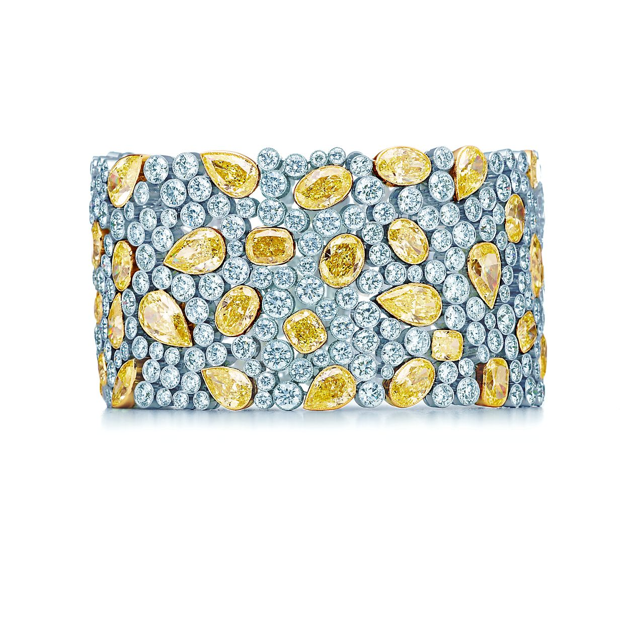 Cobblestone Yellow Diamond Bracelet