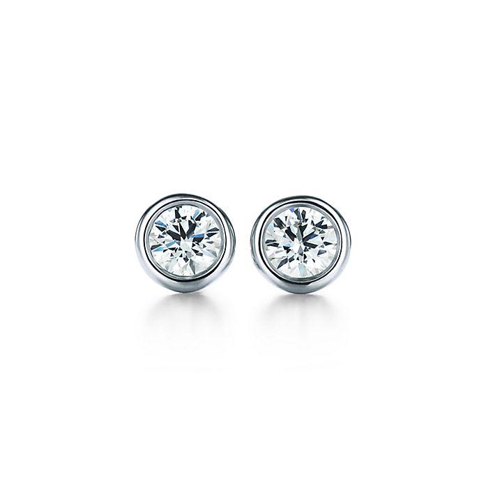 e6858f1db Elsa Peretti® Diamonds by the Yard® earrings in platinum.   Tiffany ...