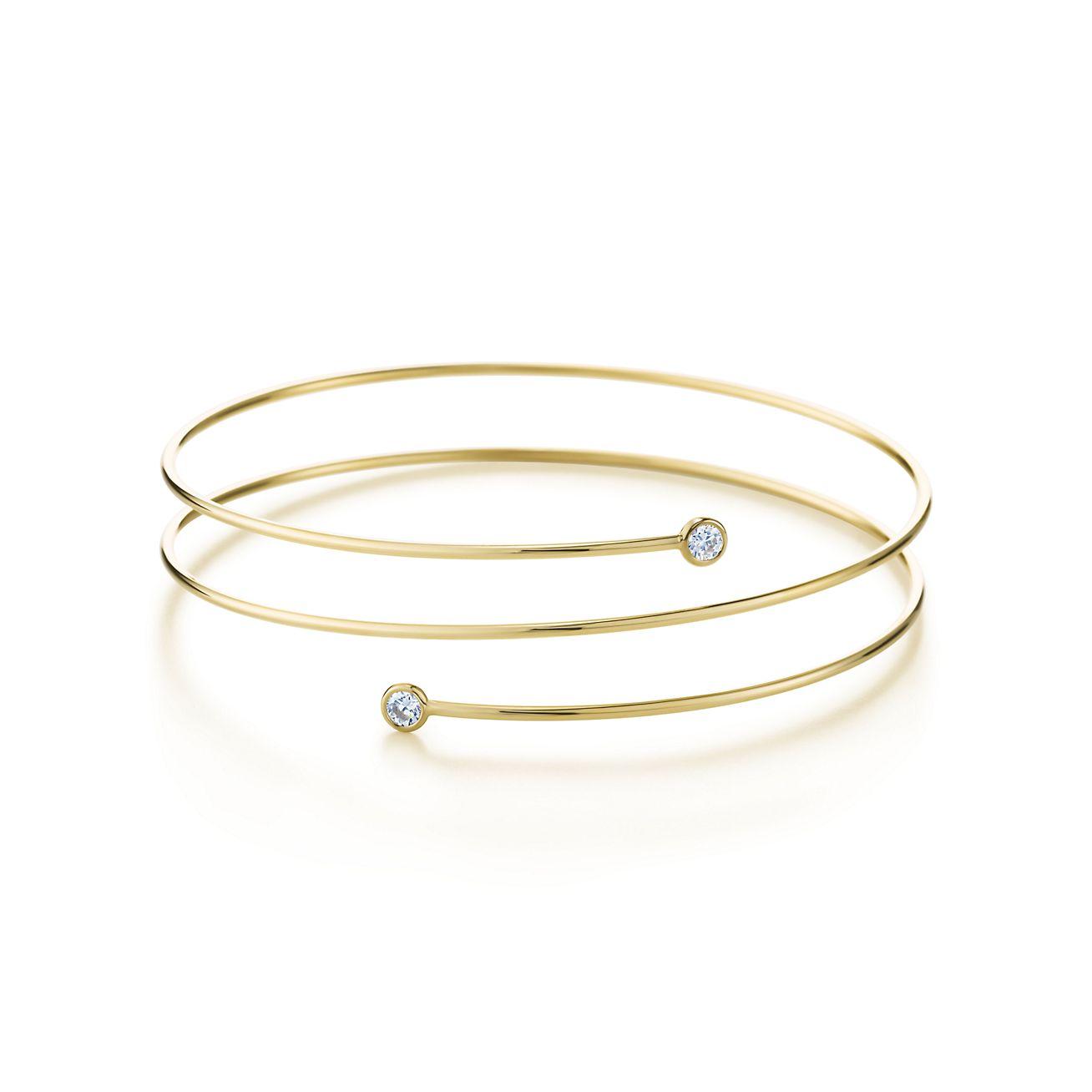 Elsa Peretti Diamond Hoop Bracelet