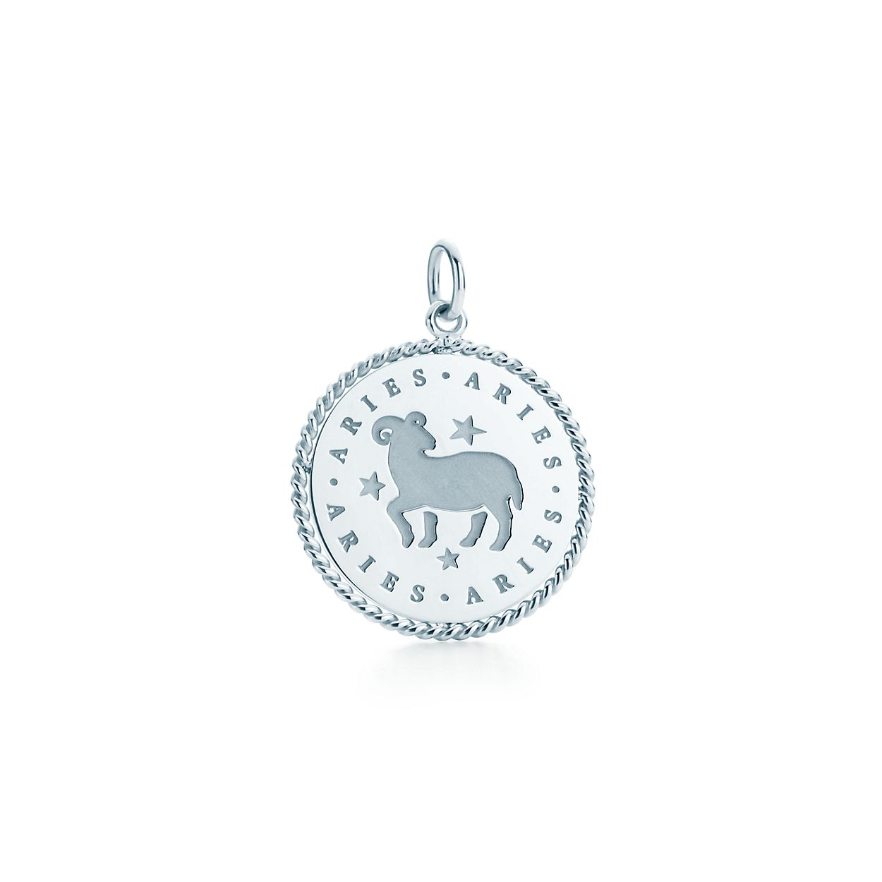 Capricorn zodiac charm in sterling silver - Size Capricorn Tiffany & Co. mHitt