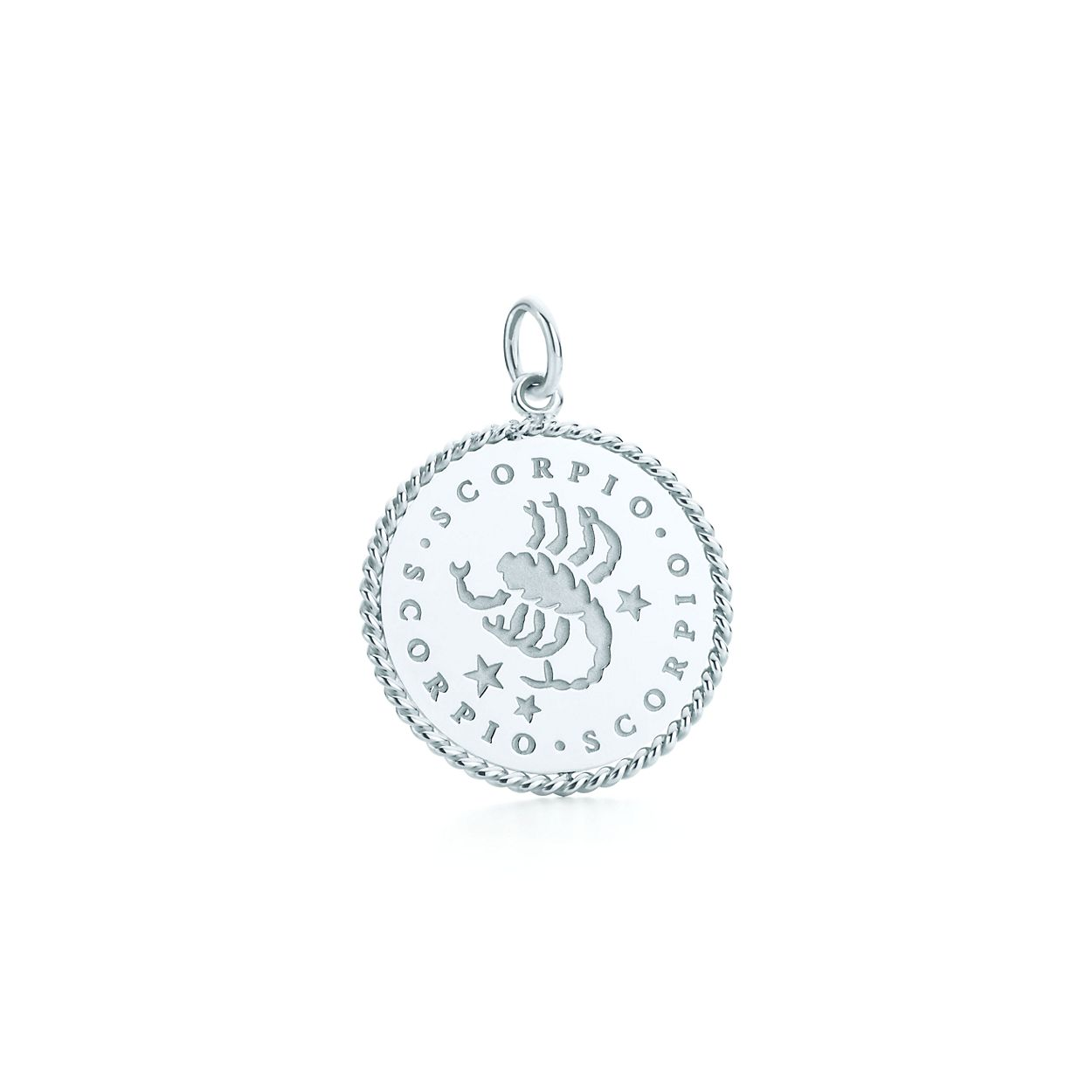Scorpio zodiac charm in sterling silver tiffany co scorpio zodiac charm scorpio zodiac charm aloadofball Images