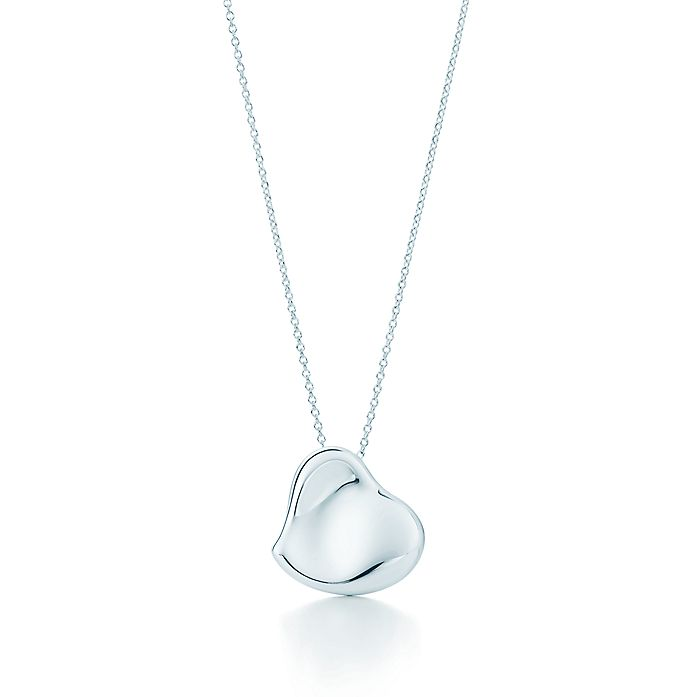 6ce230c8c21 Elsa Peretti® Full Heart pendant in sterling silver, 20 mm wide ...