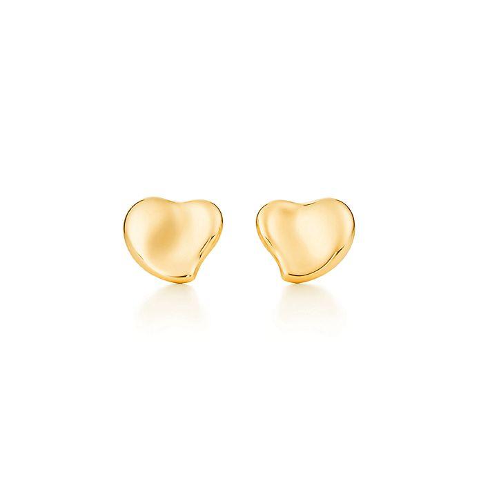 be31a3113d0b Aretes Elsa Peretti® Full Heart en oro de 18k