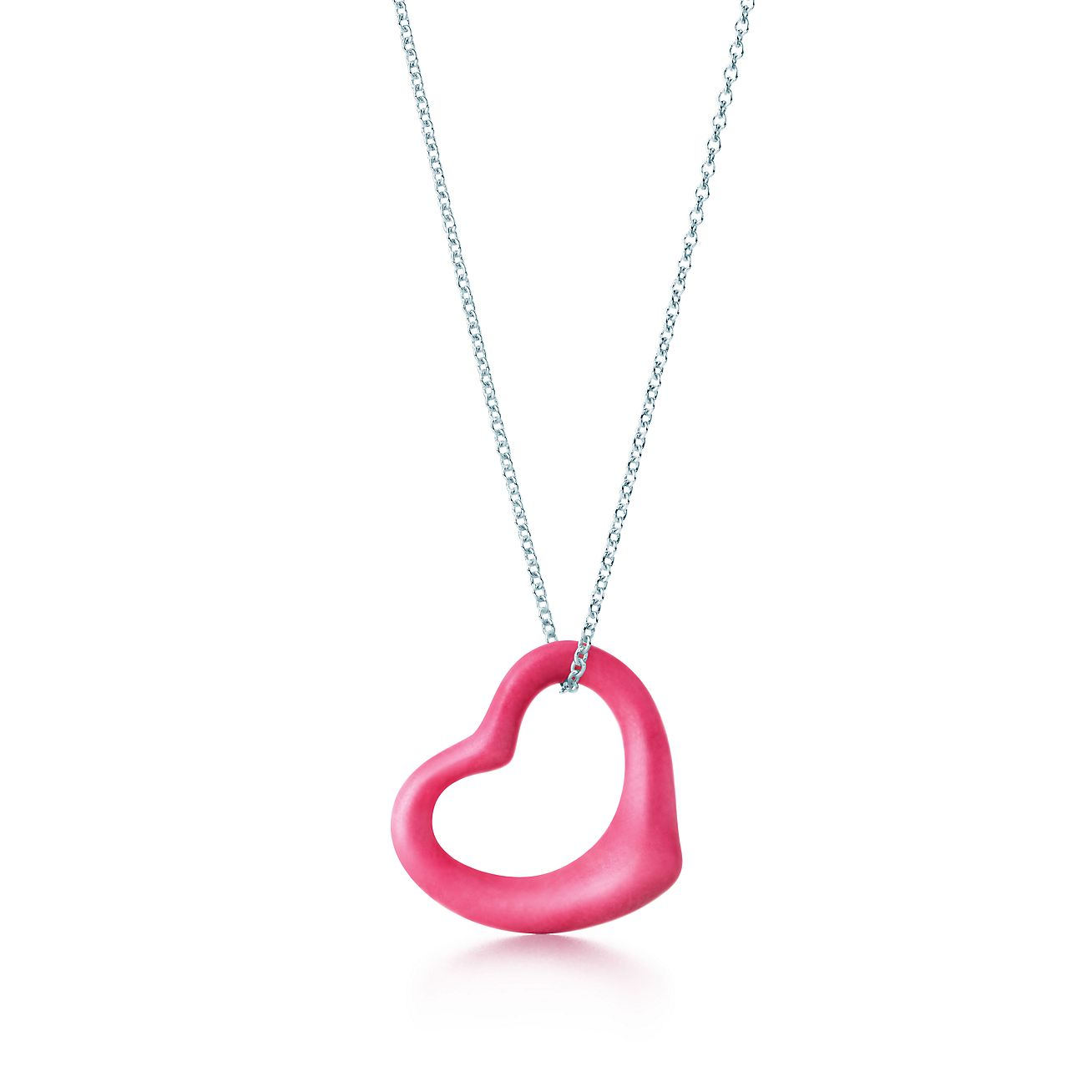Elsa Peretti Open Heart pendant in sterling silver - Size 27 mm Tiffany & Co.