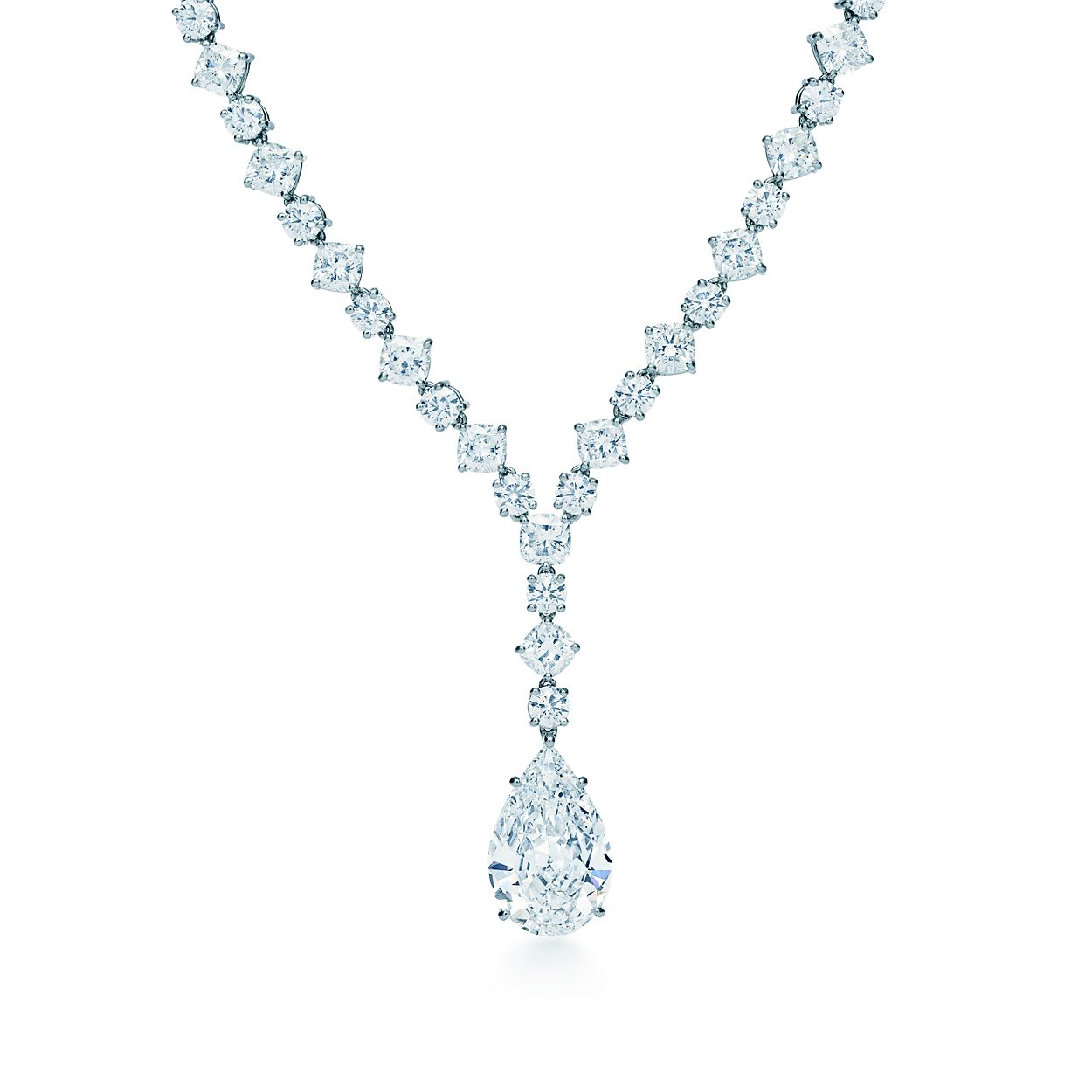 diamond style kwiat platinum gold in necklace white riviera product line collection jewelry graduated