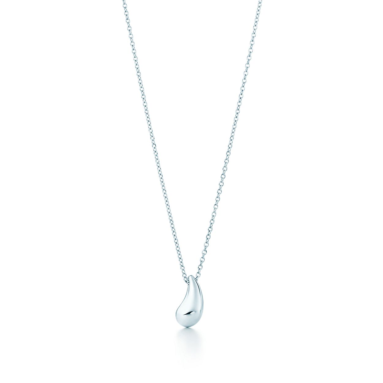 Elsa peretti teardrop pendant in sterling silver tiffany co elsa perettiteardrop pendant mozeypictures Image collections