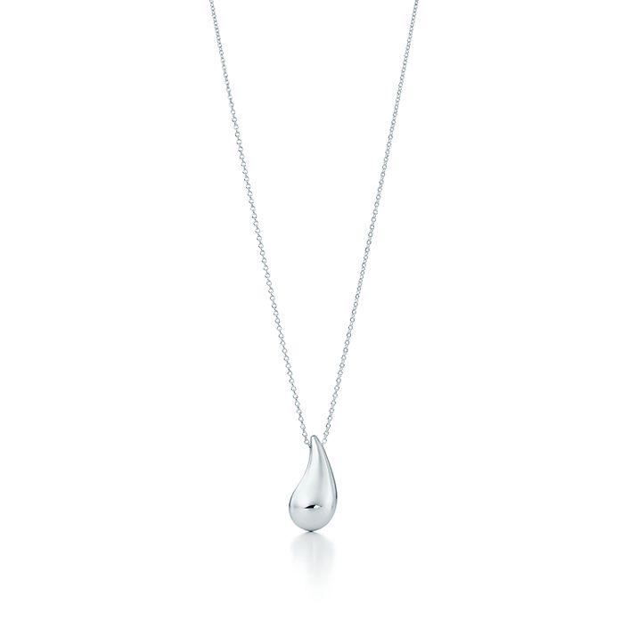 276cf05b3 Elsa Peretti® Teardrop pendant in sterling silver. | Tiffany & Co.