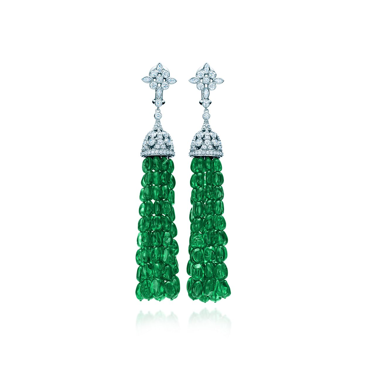 Tsavorite Tel Earrings