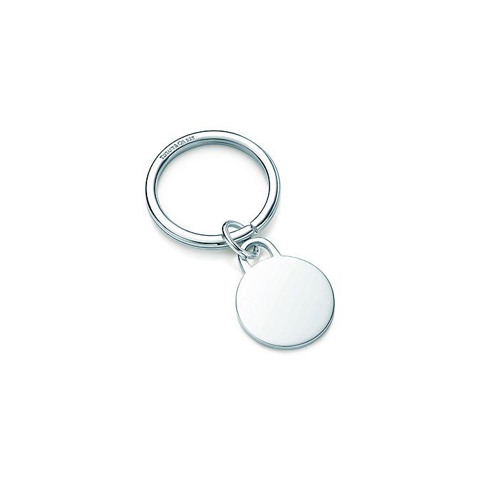 58da2ed2f Round tag key ring in sterling silver. | Tiffany & Co.