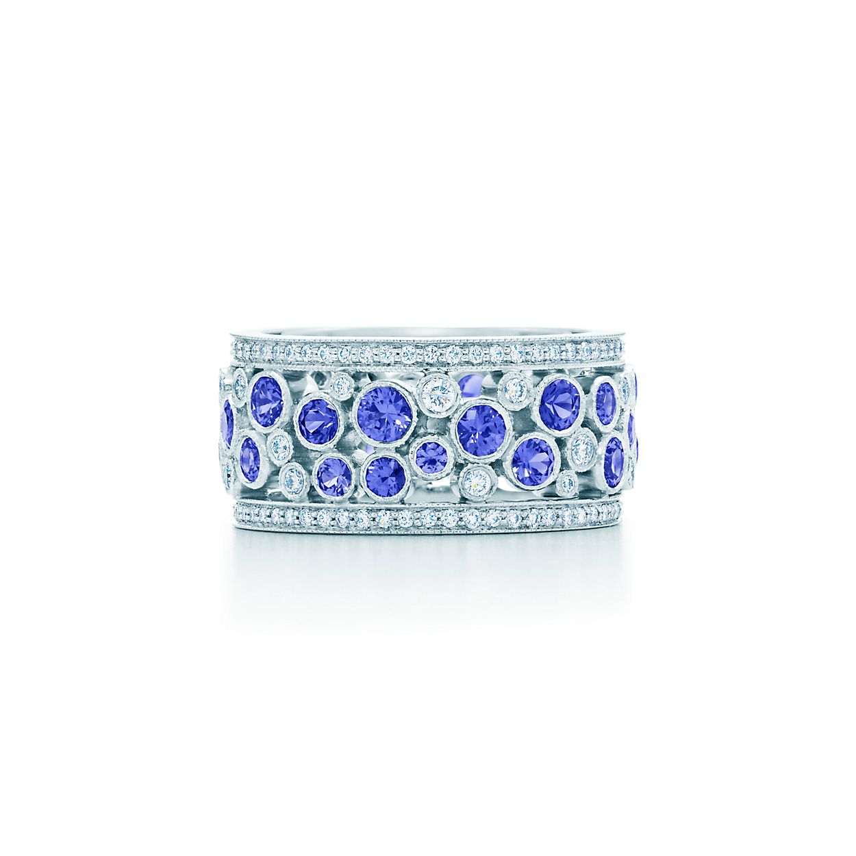 bands verragio cl sapphire engagement and diamond c ring