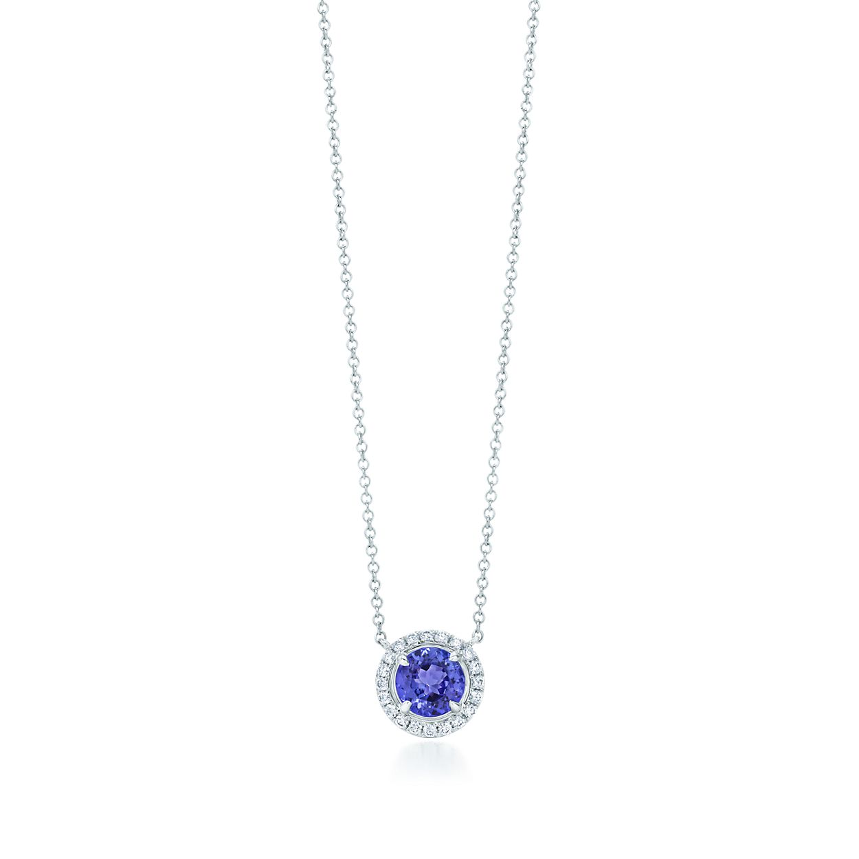 section oval of pendant diamonds kings classic tanzanite pendants