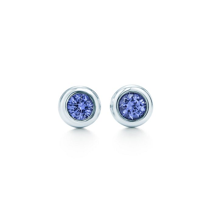 3a70364ad Elsa Peretti® Color by the Yard earrings in sterling silver with ...