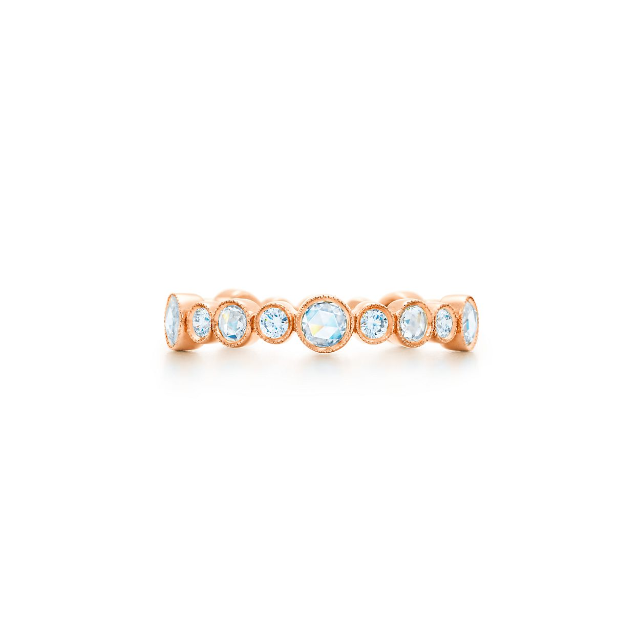 z ring rings band diamond bands rose gold chain
