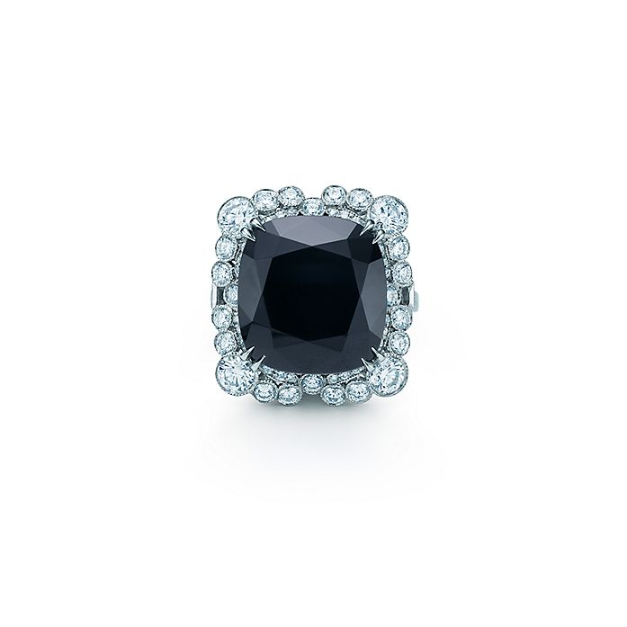 5f99dae2b The Gatsby Collection ring of diamonds and an 8.20-carat black onyx ...