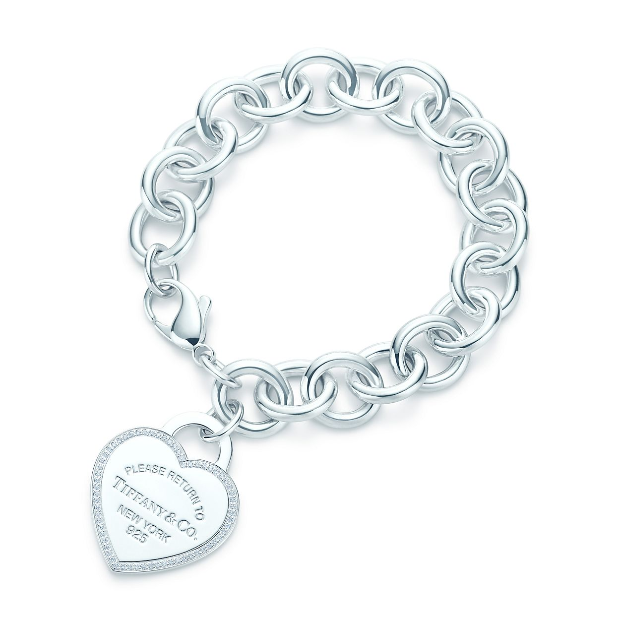 Return To Tiffany Heart Tag Bracelet