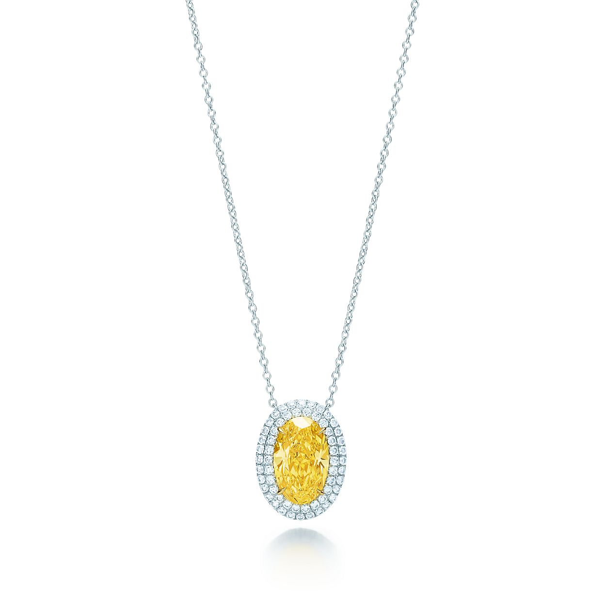 Tiffany soleste yellow diamond pendant in platinum and 18k gold tiffany solesteyellow diamond pendant mozeypictures Image collections