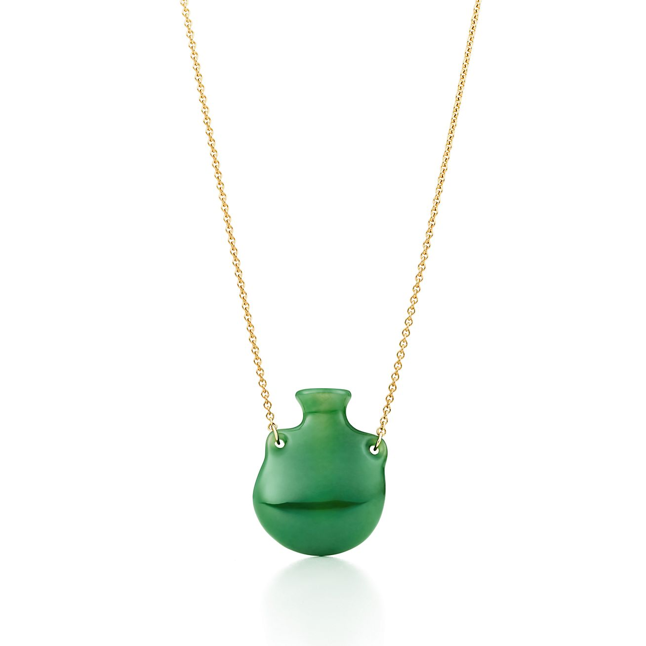 green handmade gemstone brass pendant jewelry bail necklace jade unique with product gold