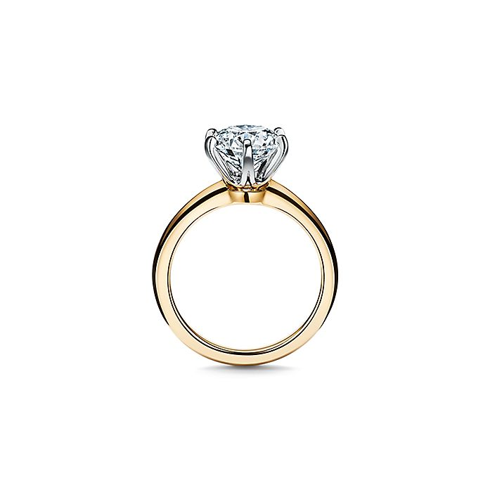 7cf421dbc The Tiffany® Setting Engagement Ring in 18k Yellow Gold