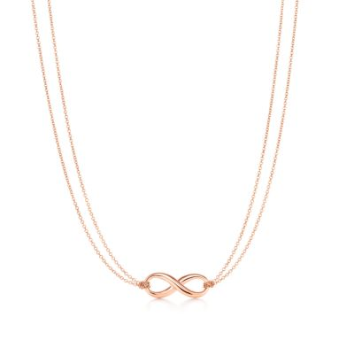 Tiffany Infinity pendant in 18k rose gold Tiffany Co