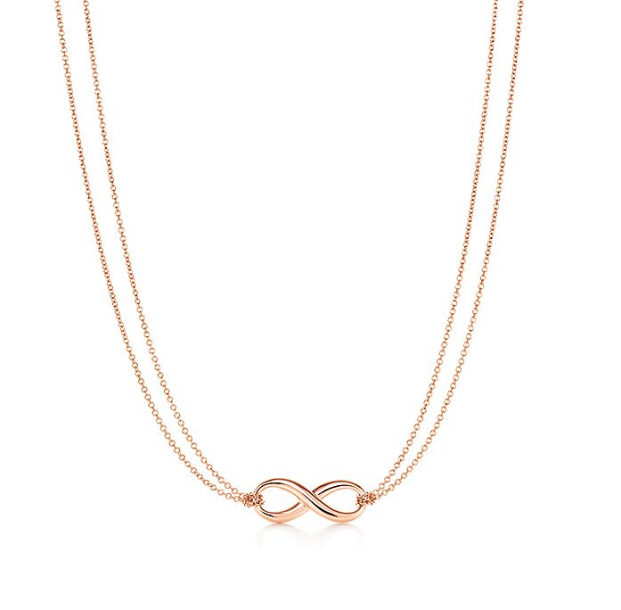 647de8917 Tiffany Infinity pendant in 18k rose gold. | Tiffany & Co.
