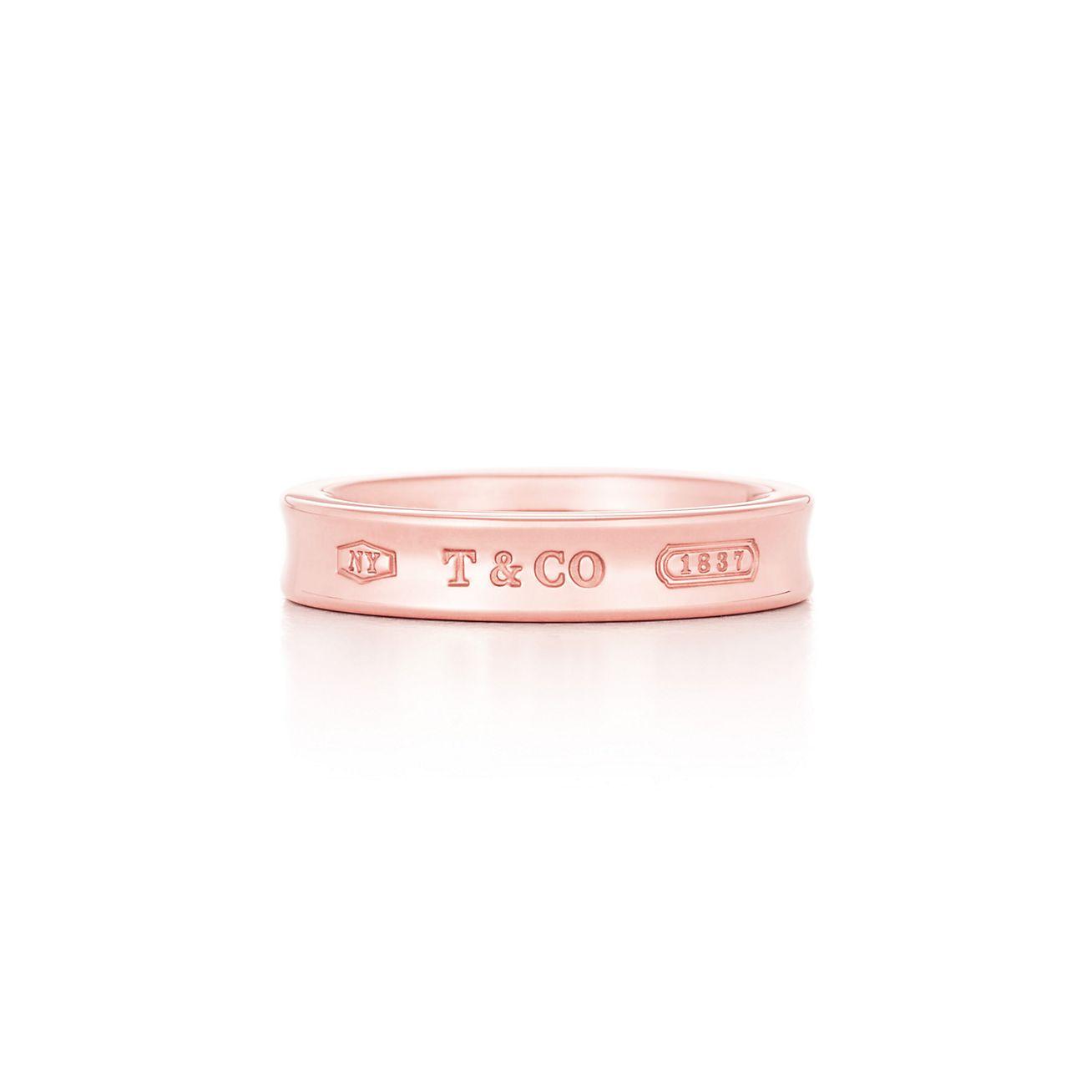 Tiffany 1837 Schmaler Ring Aus Rubedo Metall Tiffany Co
