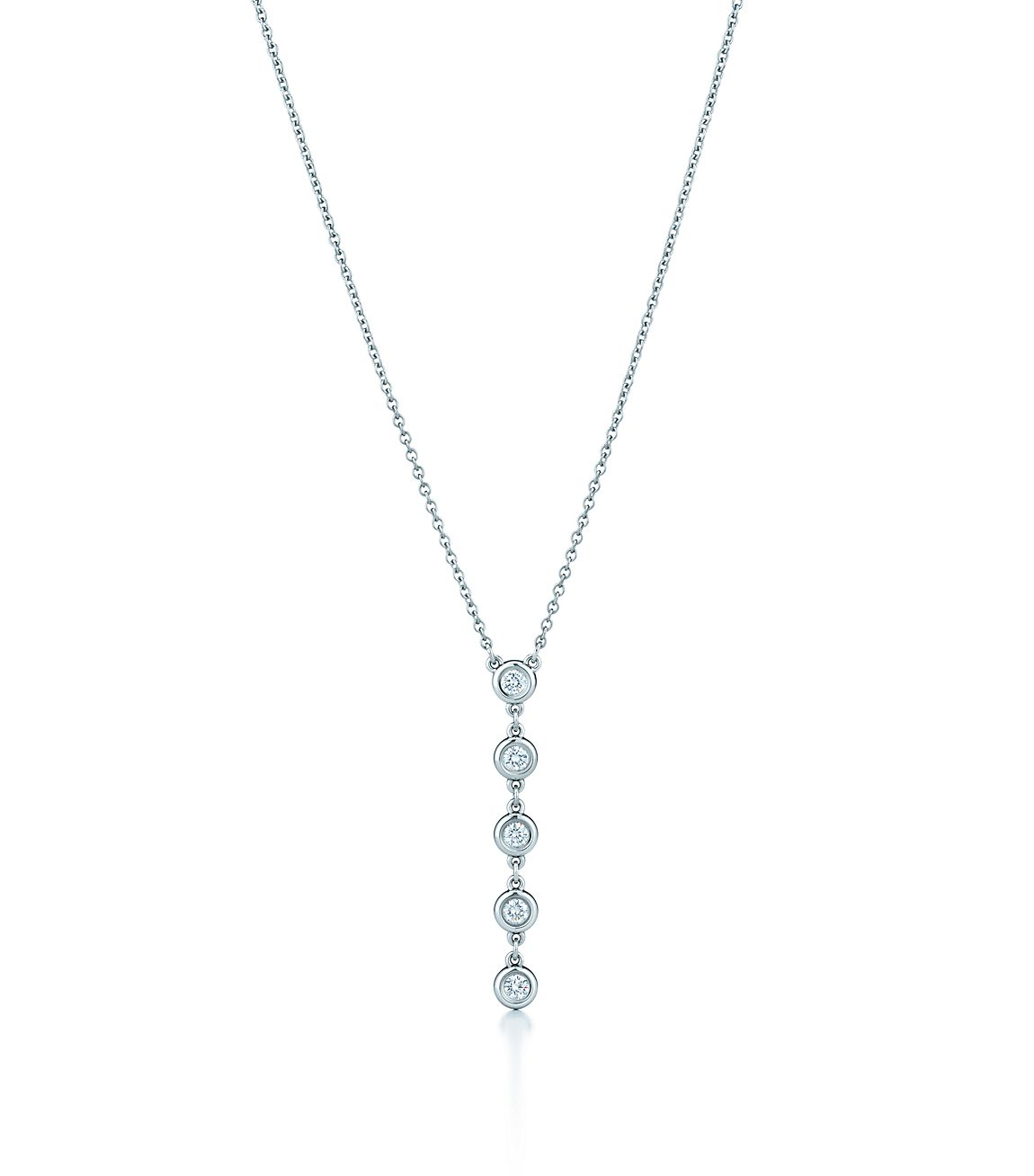 Elsa peretti diamonds by the yard drop pendant in sterling silver elsa perettidiamonds by the yard drop pendant aloadofball Images