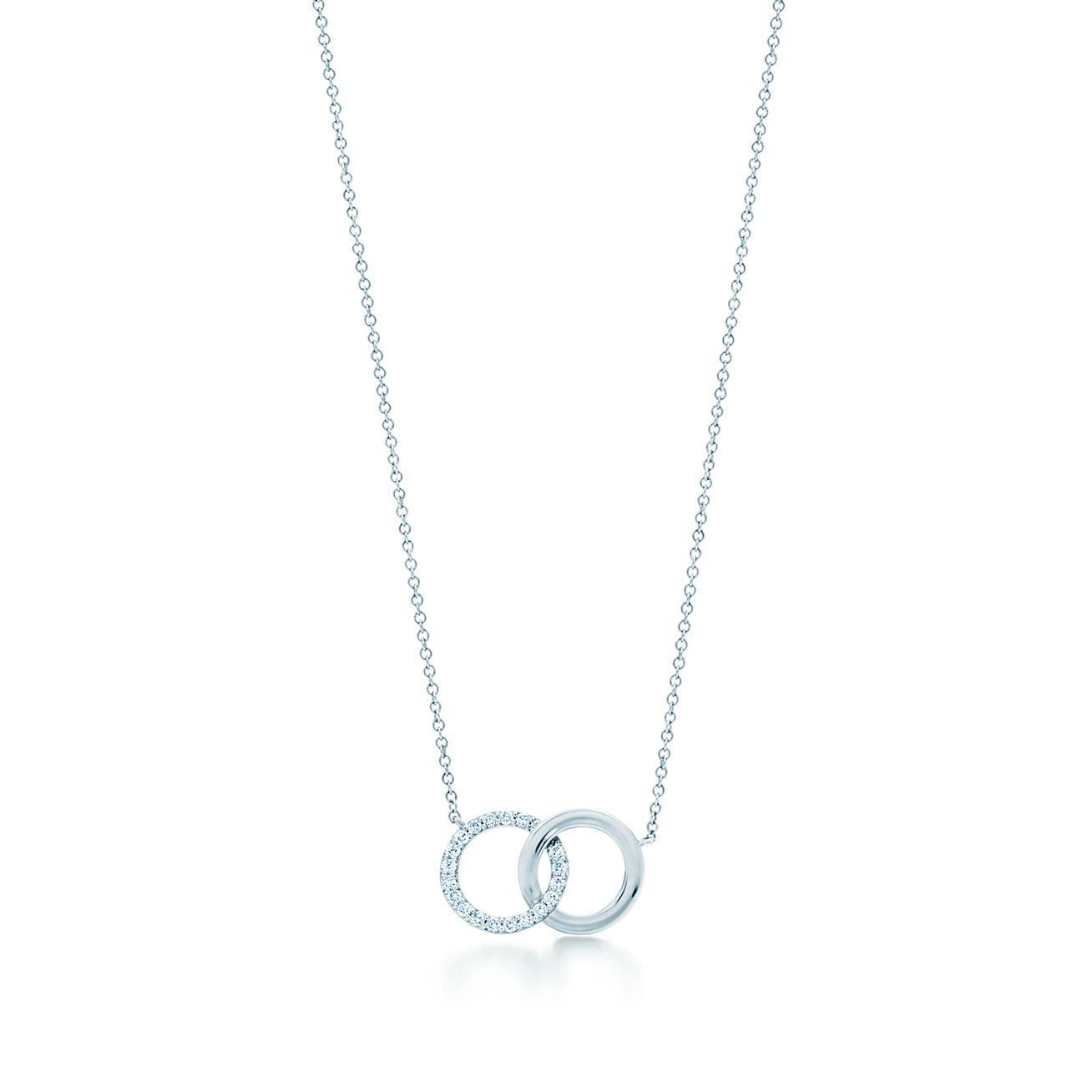 Tiffany 1837 circle pendant in 18k gold with diamonds Tiffany & Co.