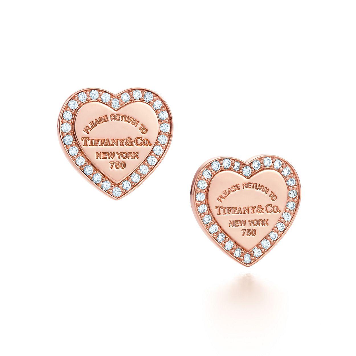 Return To Tiffany Heart Earrings