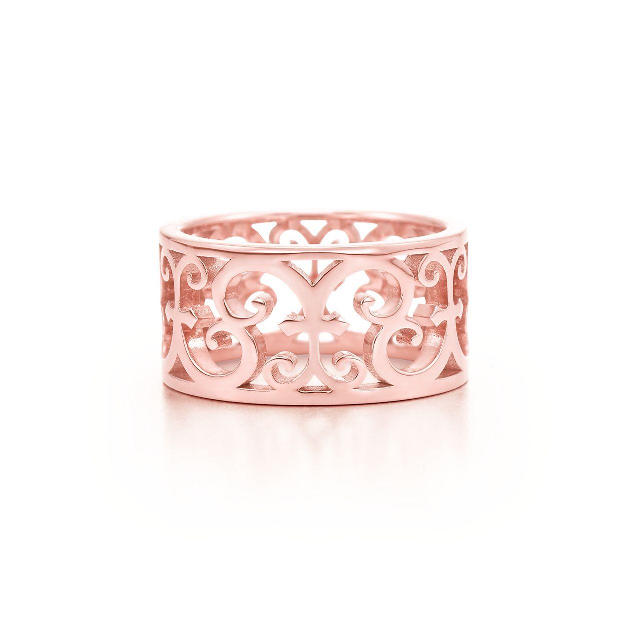 Tiffany Enchant wide ring in Rubedo metal - Size 4 1/2 Tiffany & Co. 62u9q