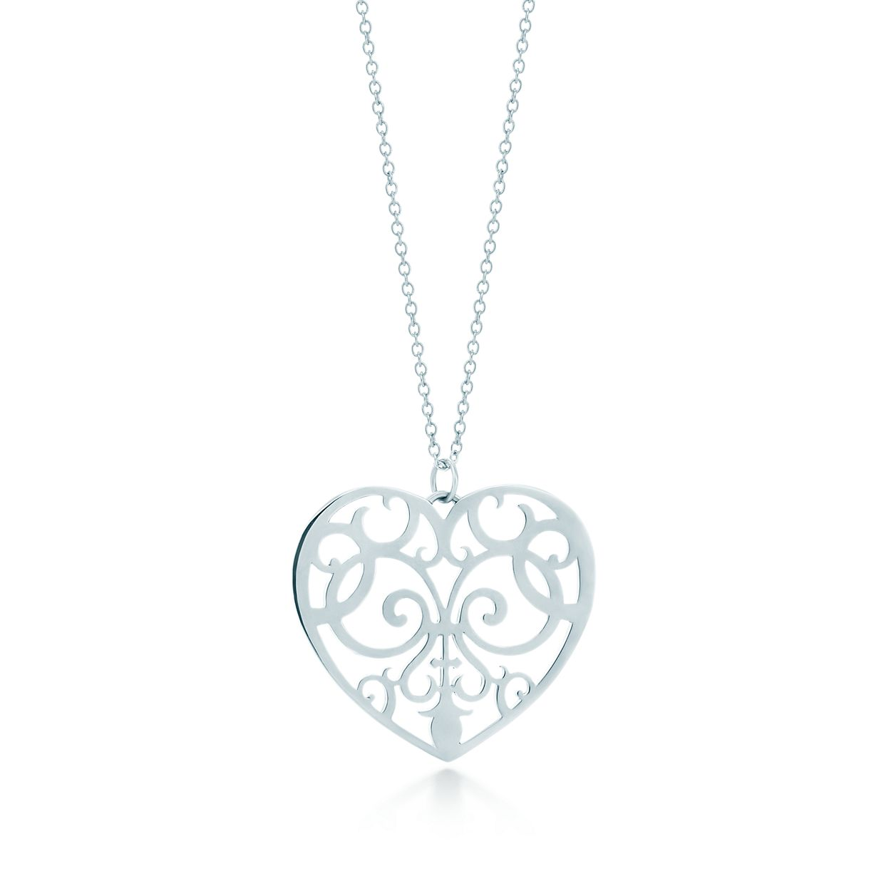 Tiffany enchant heart pendant in sterling silver large tiffany tiffany enchantheart pendant mozeypictures Gallery