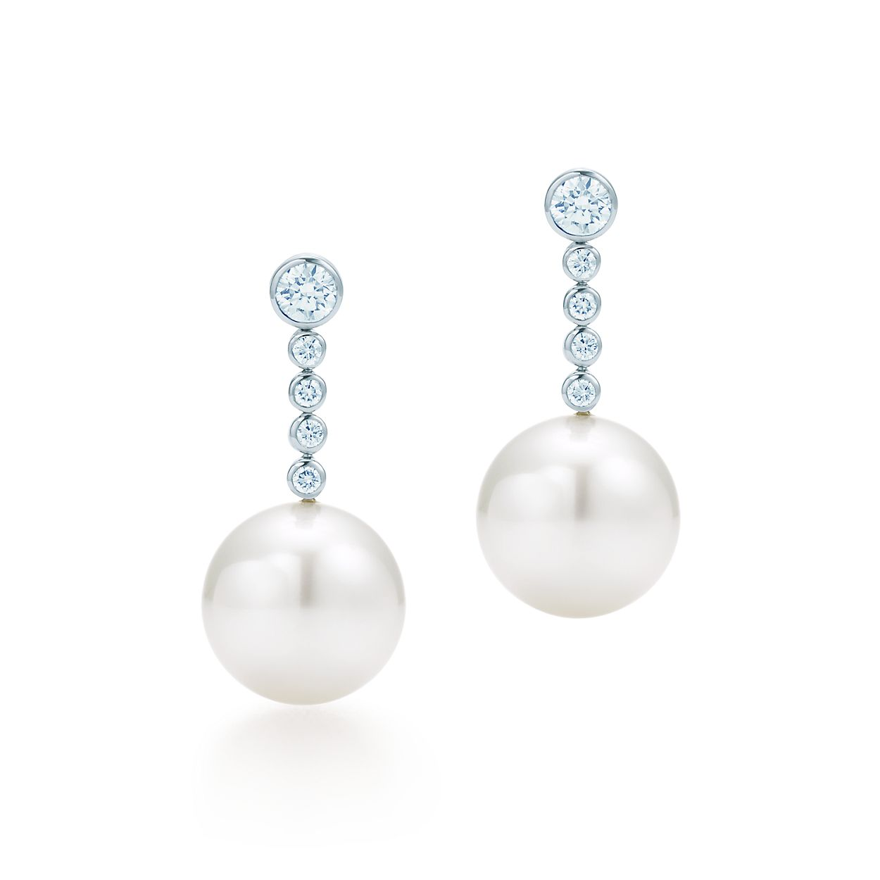 Tiffany Jazz South Sea Pearl Earrings