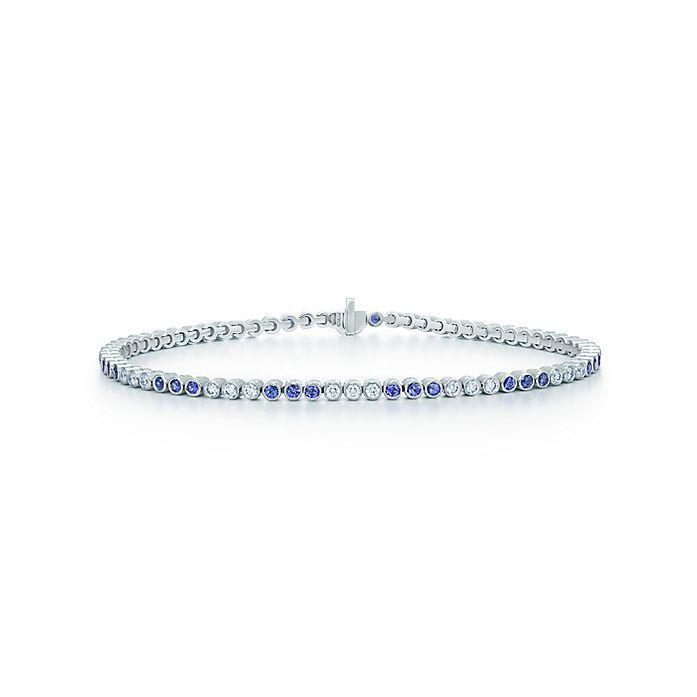 67ac1495df115 Diamond and Sapphire Bracelet