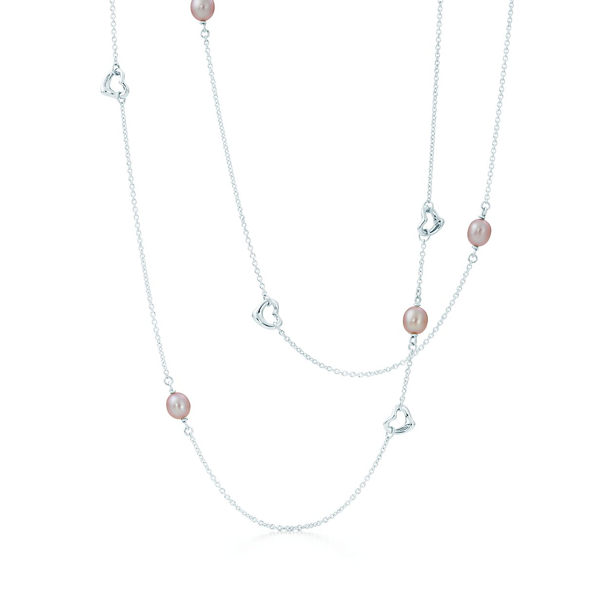 Elsa Peretti Pearls by the Yard sprinkle necklace in sterling silver - Size Tiffany & Co. ATmzh9JJ