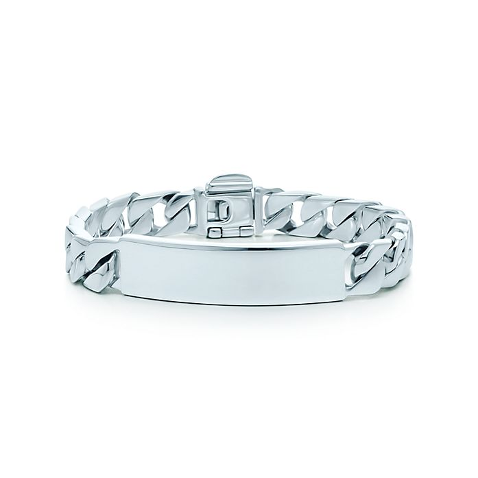 757111841b248 ID bracelet in sterling silver, medium. | Tiffany & Co.