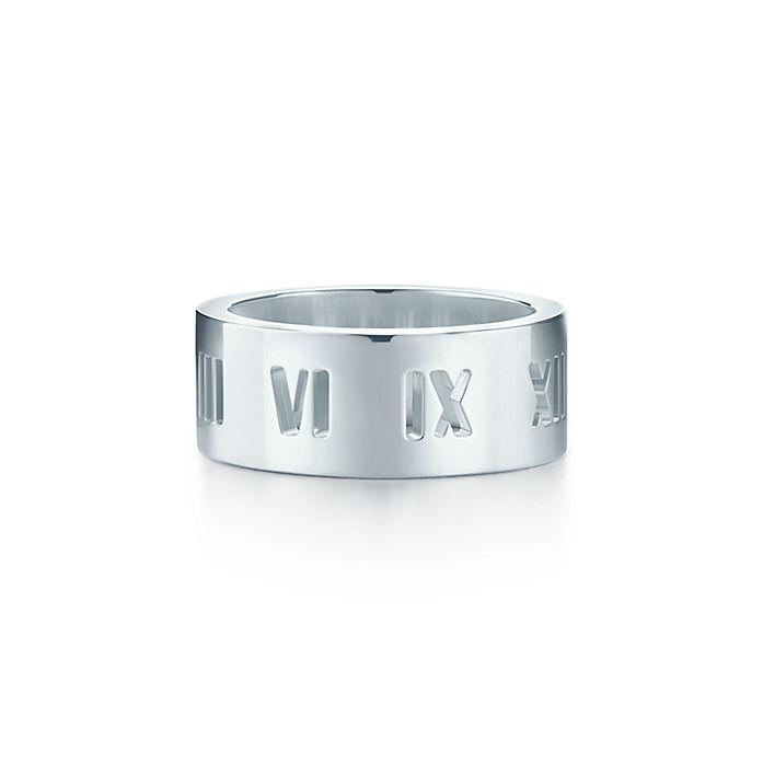 68c0ea7bda1 Atlas® ring in sterling silver.   Tiffany & Co.