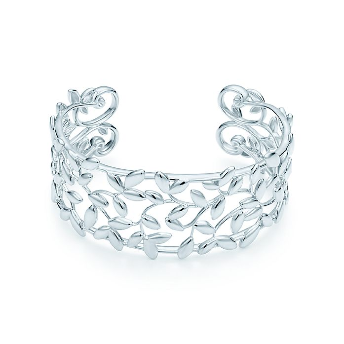 b0fb5c749 Paloma Picasso® Olive Leaf cuff in sterling silver, medium ...