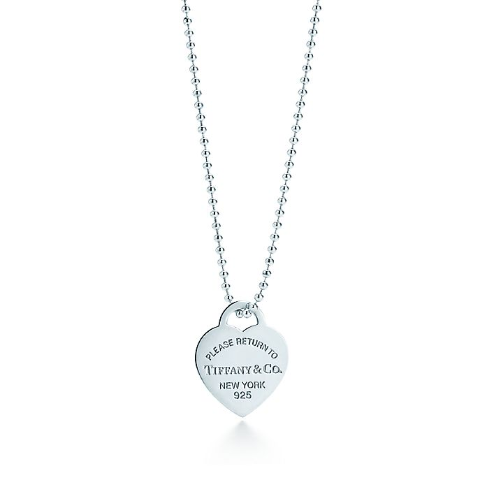 b2fe1d168 Return to Tiffany® heart tag pendant in sterling silver, large ...