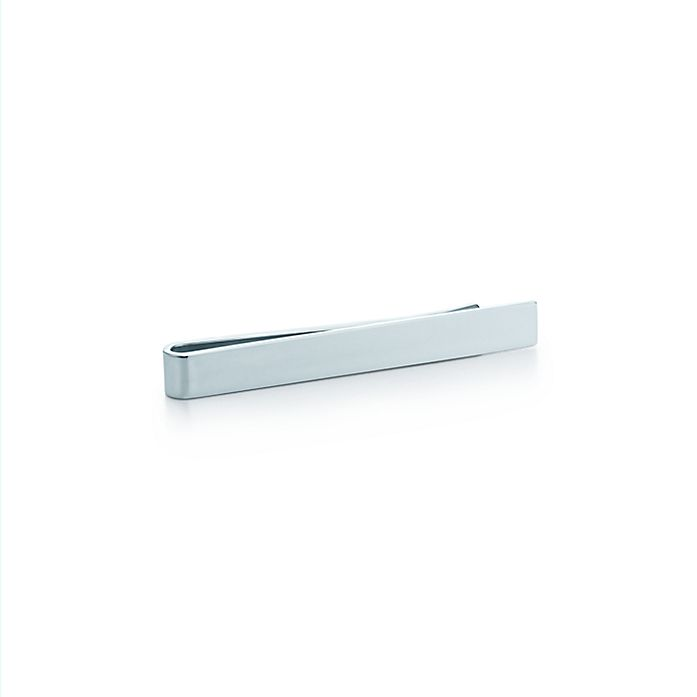 0bfc8d759fd9 Classic tie bar in sterling silver. | Tiffany & Co.