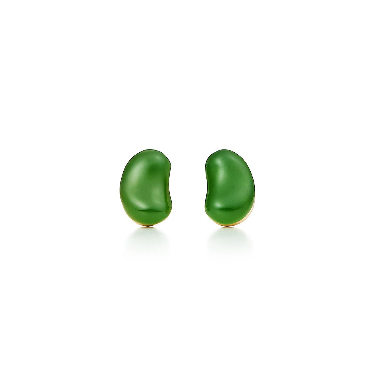 Elsa Peretti Bean earrings in 18k gold - Size 9 MM Tiffany & Co.