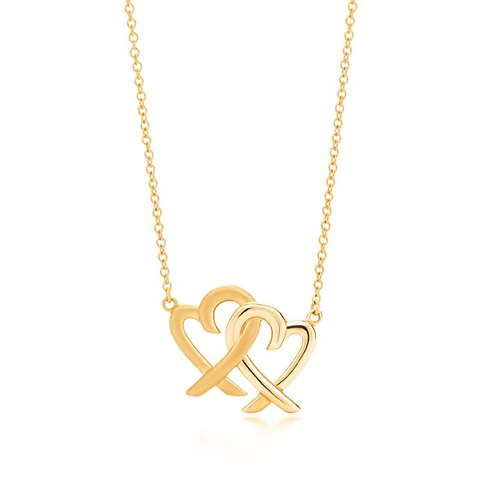19dd9f595 Paloma Picasso® Loving Heart interlocking pendant in 18k gold ...