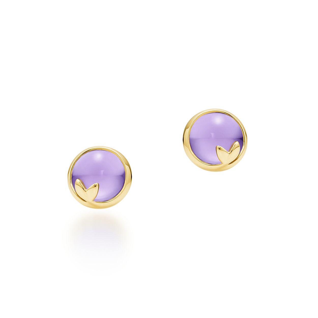 Paloma Pico Olive Leaf Earrings