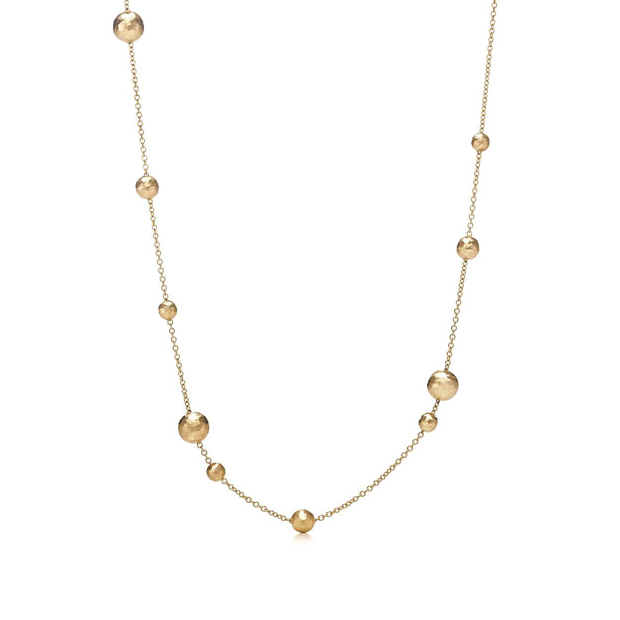 Chaîne De Perles En Or Blanc 18 Carats, 30 M De Longueur - Taille 30 Tiffany & Co.