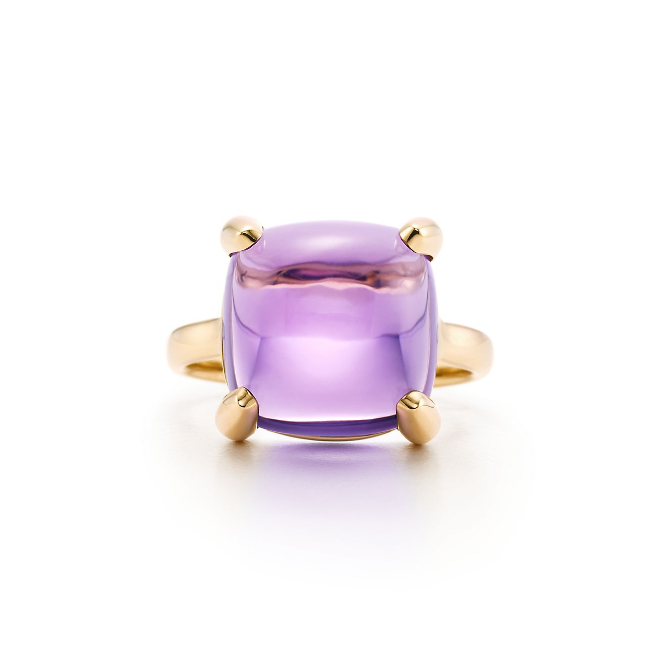 Palomas Sugar Stacks ring in 18k gold with an amethyst - Size 5 Tiffany & Co.