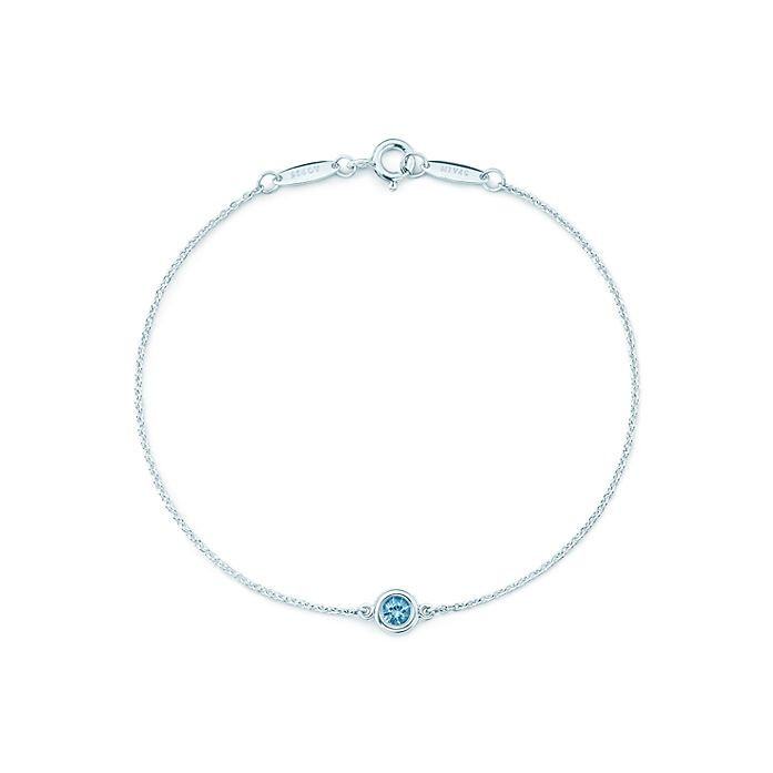 b1890a9d7 Elsa Peretti® Color by the Yard bracelet in sterling silver with an ...