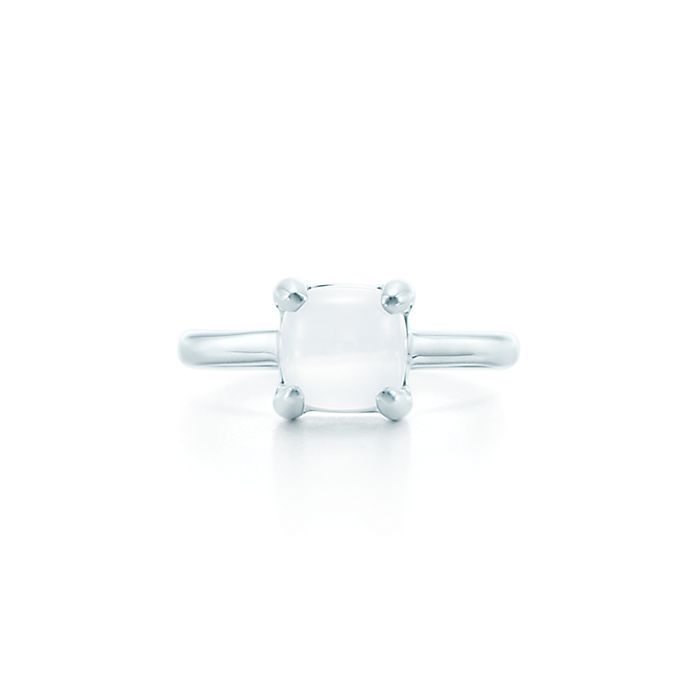 2c1faac71 Paloma's Sugar Stacks ring in sterling silver with a milky quartz ...