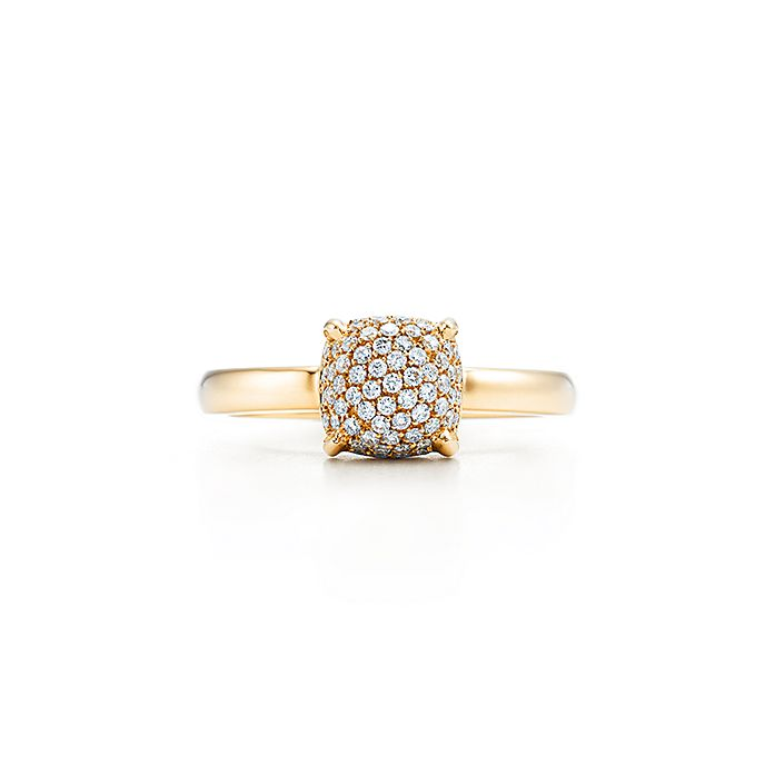 4404f81f1 Paloma's Sugar Stacks ring in 18k gold with diamonds. | Tiffany & Co.